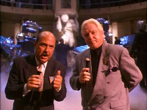 """Gene Okerlund and Bobby """"the Brain"""" Heenan"""
