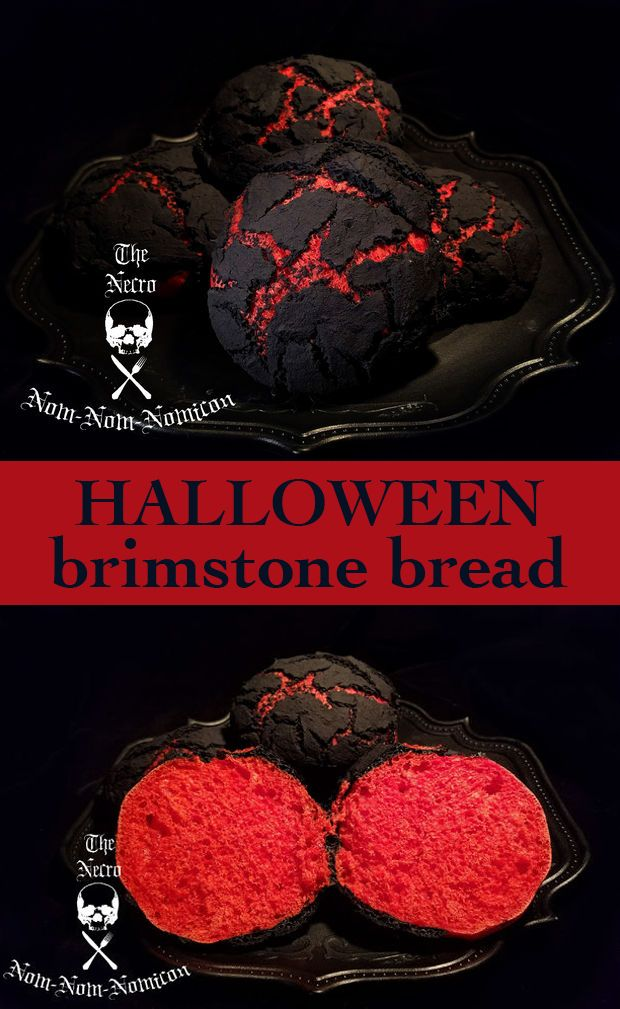 Rumor has it, when demons in Hell make this bread, they roll the dough in the deep pits of sulfur and soul dust and cook them in the hot brimstone vents.