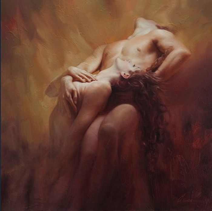 Mark Arian 1947 | Romantic Realist painter, So beautiful :)
