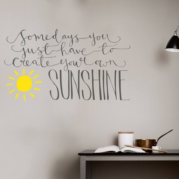 Create Your Own Wall Decal 2017