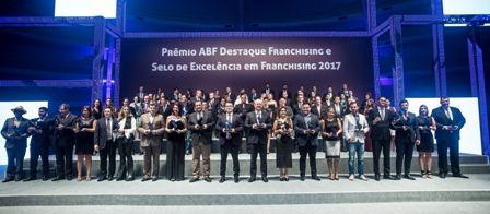Selo de Excelência em Franchising 2017: ABF reconhece marcas por sua excelência operacional