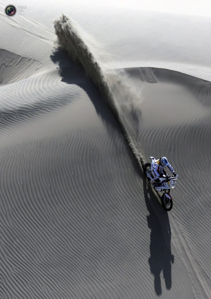 The 2013 Dakar Rally http://biketrade.co.uk
