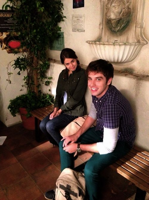 maia mitchell and david lambert relationship