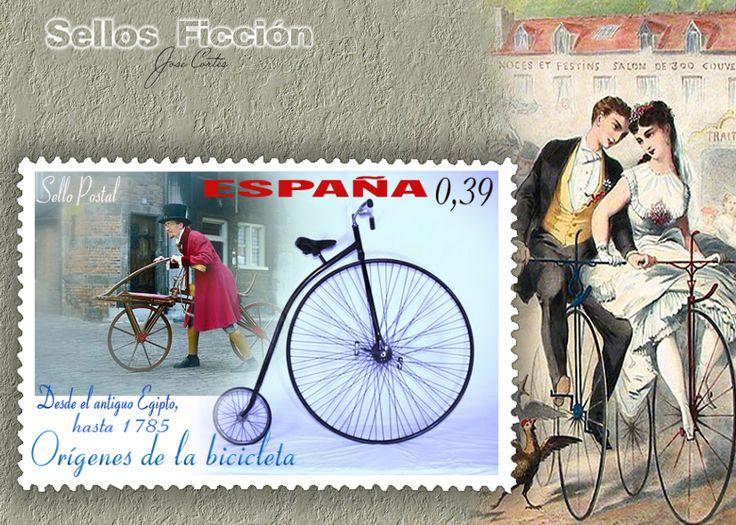 Timbre origenes de la bicicleta #vélo Espagne