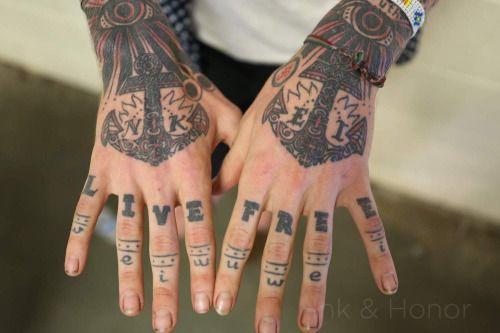 christofer drew hand tattoos | Hand tattoos for guys, Hand ...