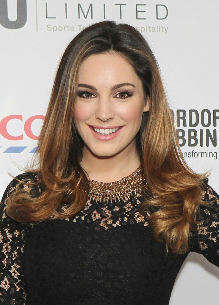 #Kelly #Brook #hair #ombre #pretty