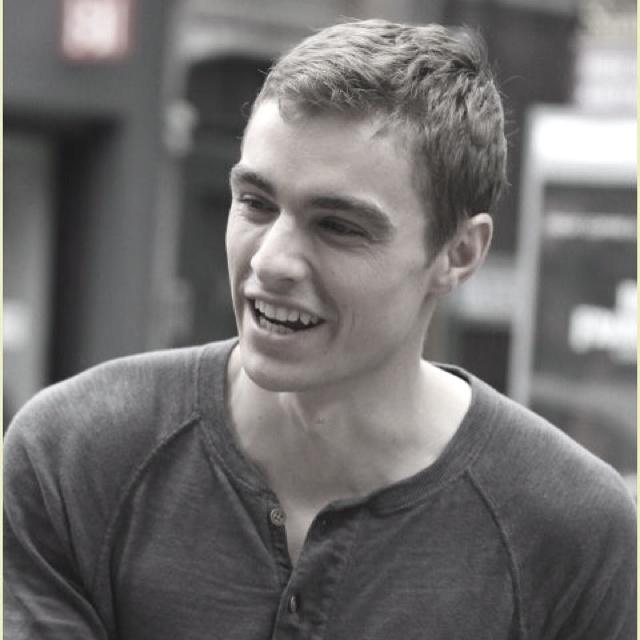 Dave Franco shooing his new movie Now You See Me.