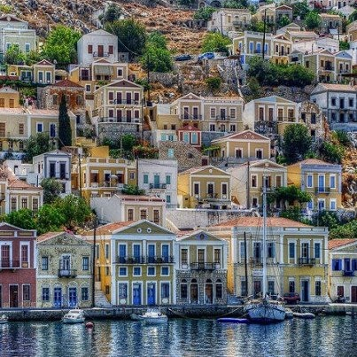 Symi island,Greece