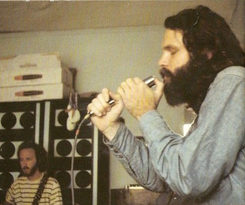 Rare Jim Morrison | rare photo at least i hadn t seen it of robby krieger and jim morrison ...