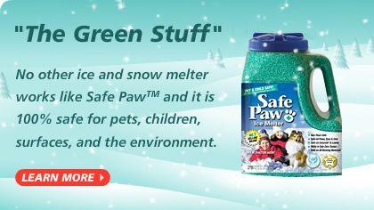 Safe Paw Ice Melt Pet Safe Ice Melter #1 Selling Snow Melter