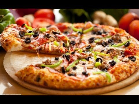 Como Hacer Masa para Pizza Italiana - YouTube