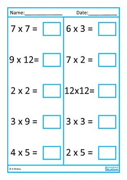 The 25+ best Times tables worksheets ideas on Pinterest | Times ...