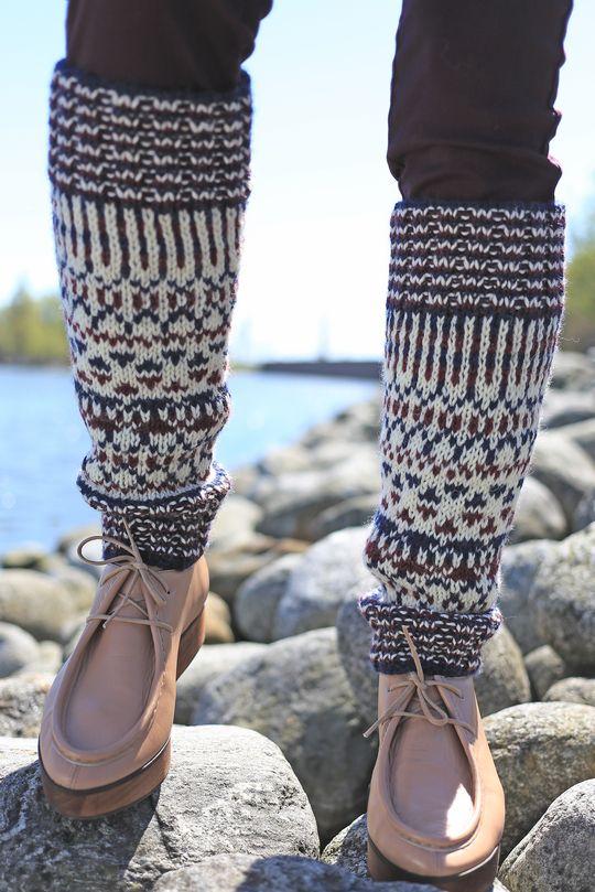 Kirjoneulesäärystimet Novita 7 Veljestä | Novita knits