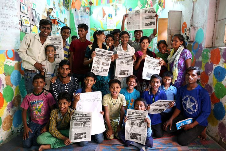 Balaknama newspaper, run and produced by street children in Delhi, tells stories…