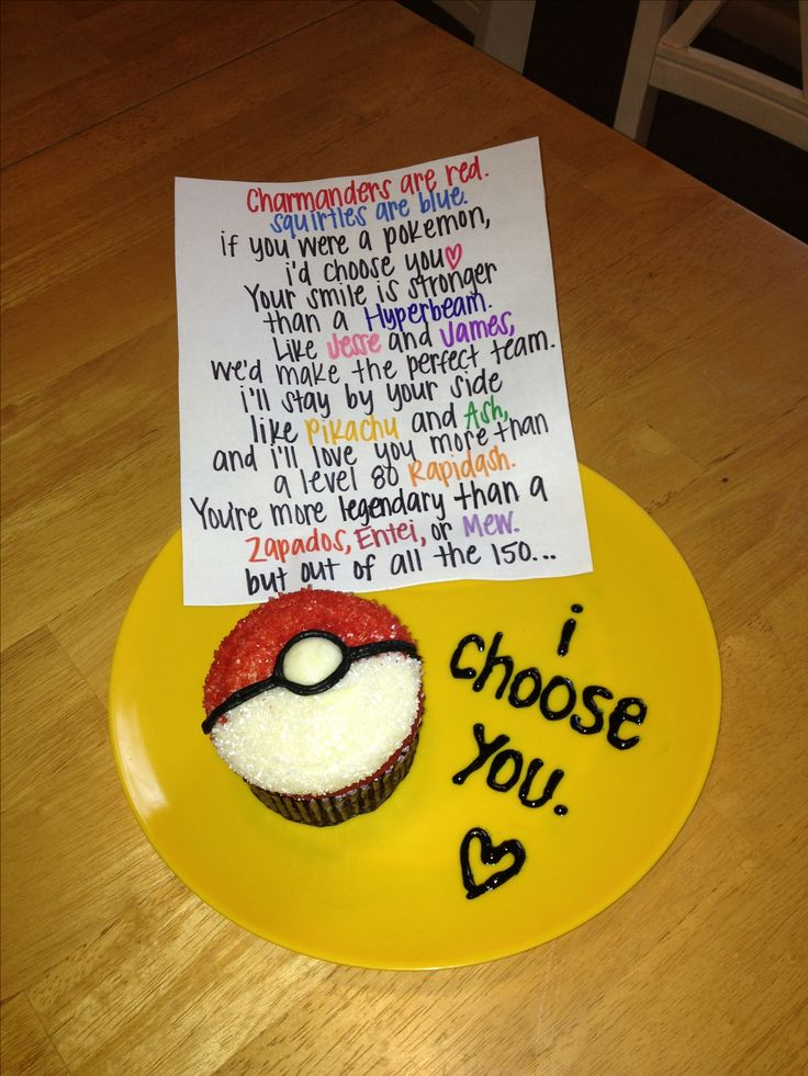 I choose you pokemon cupcake I'd totally change the end of the poem to say out of 718