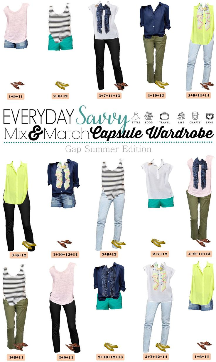 Check out this new Gap summer capsule wardrobe. I love the fun summer scarves and bright shorts. that will transition well into spring. I have similar olive colored pants that are one of my favorites this season.