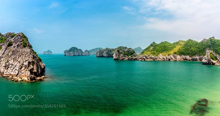 Islands by ViktorGoloborodko from http://500px.com/photo/204261585 - Cat Ba is the largest of the 367 islands spanning 260 km2 (100 sq mi) that comprise the Cat Ba Archipelago which makes up the southeastern edge of Ha Long Bay in Northern Vietnam. Wiki.. More on dokonow.com.