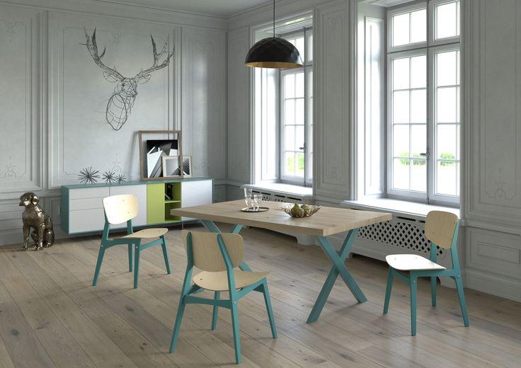 Wir fertigen handgefertigte Möbel aus Parkettdielen. Als Hamburger Start-UP und…