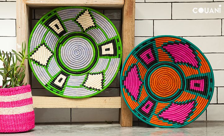 COUANI catalogue 2014 // the showstopper NZURI hand woven bowl // www.couani.com.au