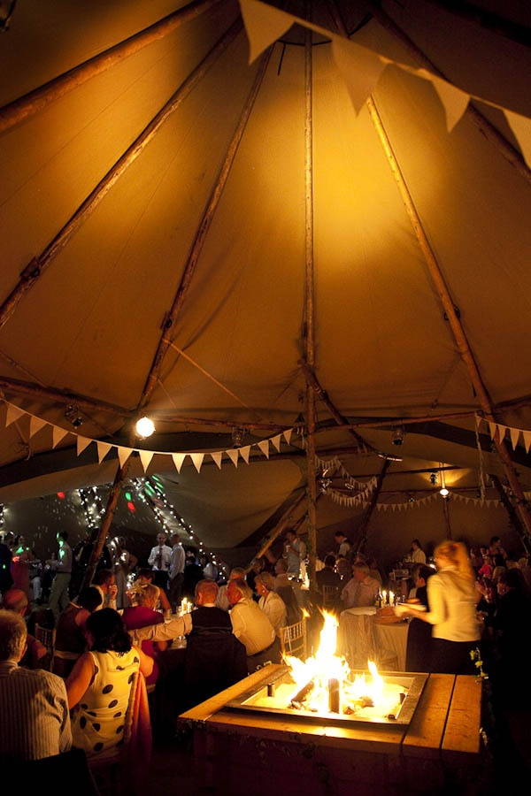 A Festival Tipi Wedding on the Family Farm: Amy & Chris