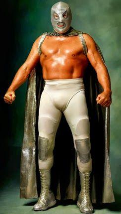 SANTO el enmascarado de plata. LasMilVidas: Luchadores Mexicanos Enmascarados - Mark Laita: Gods of War