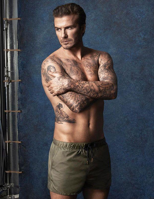H&M et David Beckham ont dévoilé une ligne de maillots de bain #peah #hm #beckham #maillot #maillot de bain