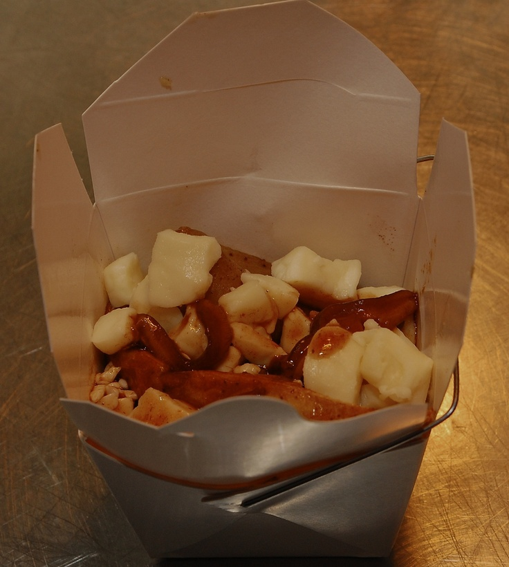 Deerhurst's Roasted Fingerling Potato Poutine Thornloe Cheese Curds