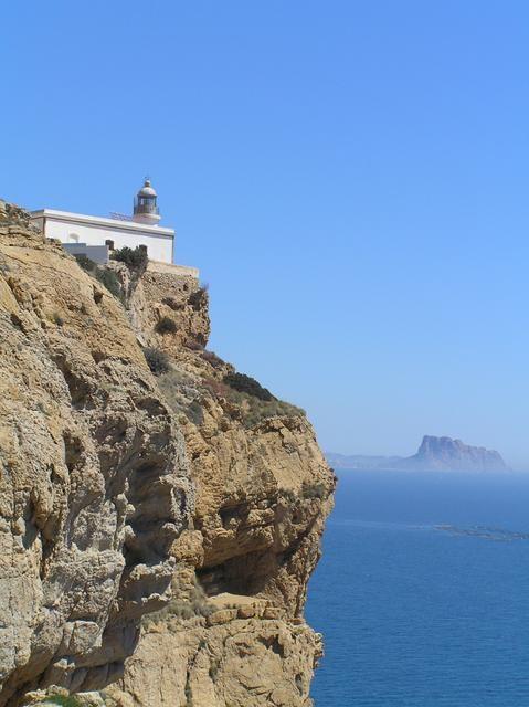 Faro de L'Albir. Alfaz del Pi - Alicante - ESPAÑA Mayo 2005 autor: JESUS