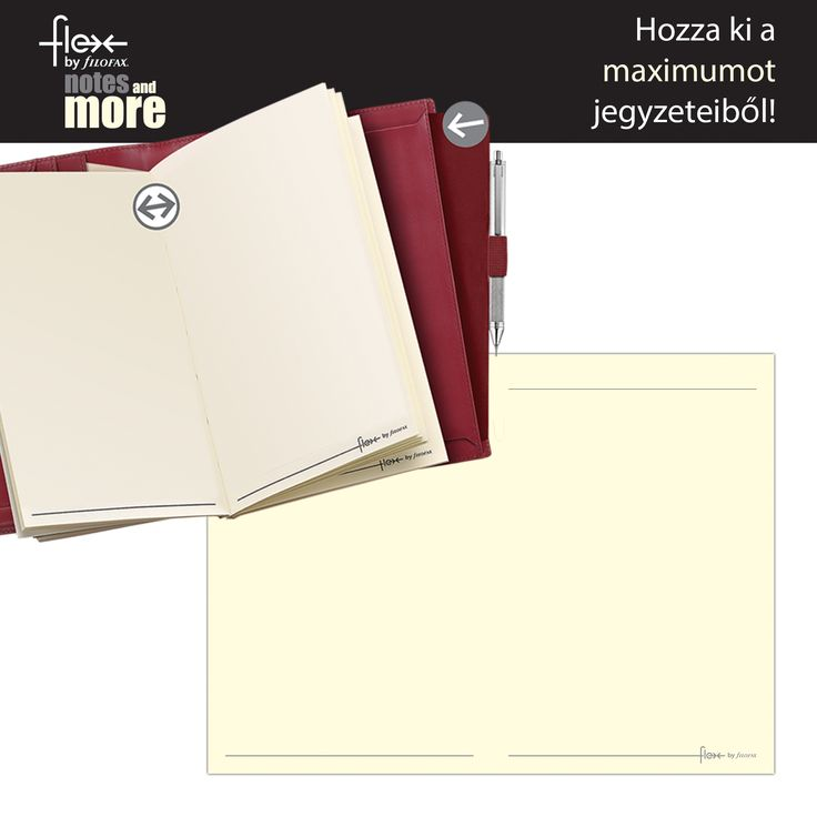 Filofax Flex Notebook Thick Plain Pocket