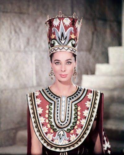 """Vintage Glamour Girls: Rita Gam in """" King of Kings """""""