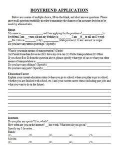 Boyfriend application