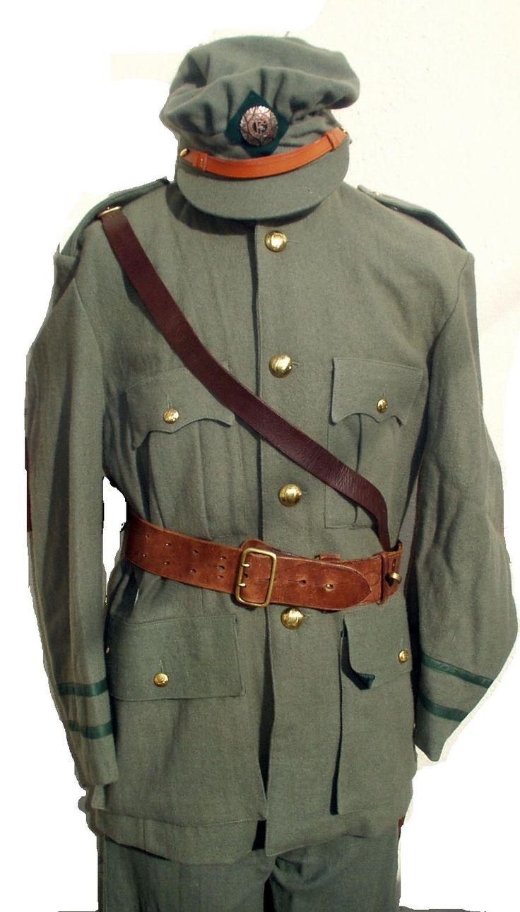 Irish (Free-State) Army uniform - Civil War (1922-23)