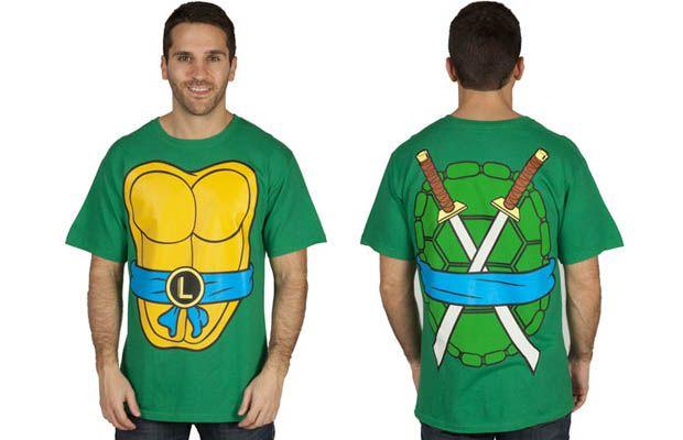 Leonardo Costume T-Shirt Get yours here: http://tshirtonomy.com/go/leonardo-costume