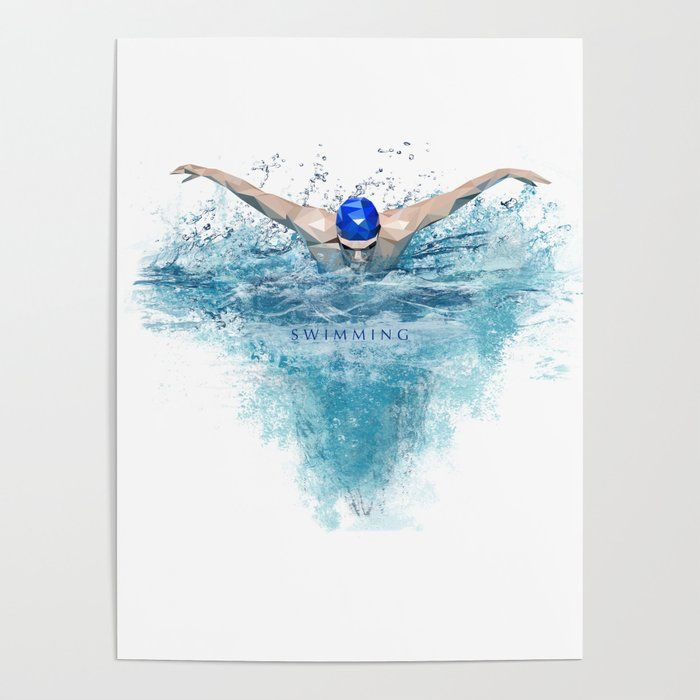 Swimming Posterswimming Poster Banish Those Blank Walls Posters
