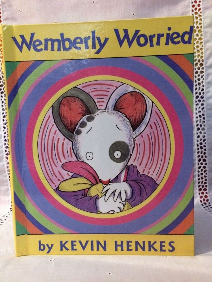 1st Ed. Wemberly Worried by Kevin Henkes (2000, Hardcover Perma Bound)    eBay
