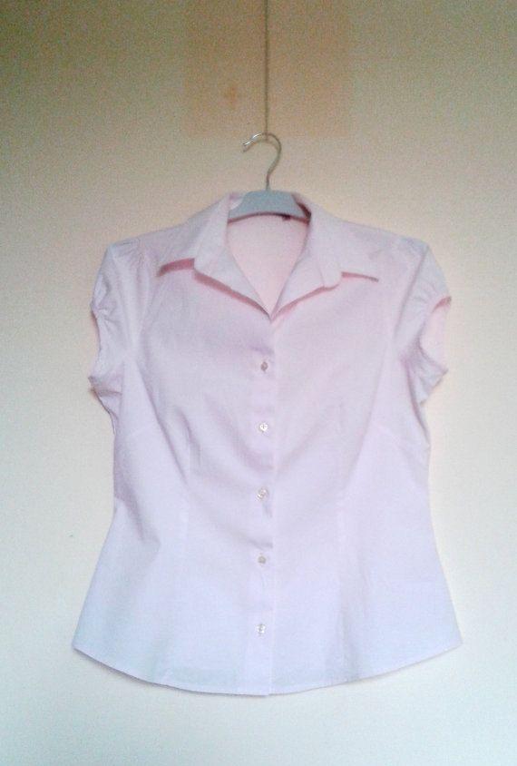 CleanVintage Pink shirtVintage Cotton shirtPink by VintageBrandNew