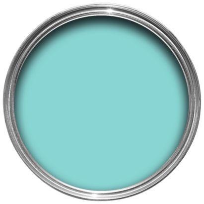 Dulux Bathroom Plus Soft Sheen Paint Marine Splash Tester