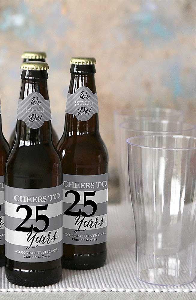 Cervejas Personalizadas Para Os Convidados Levarem Como