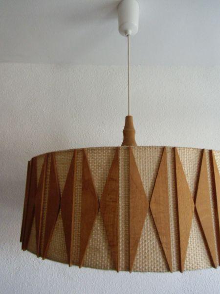 Lampe 50er 60er danish design von susduett auf dawanda for Lampen 50er design
