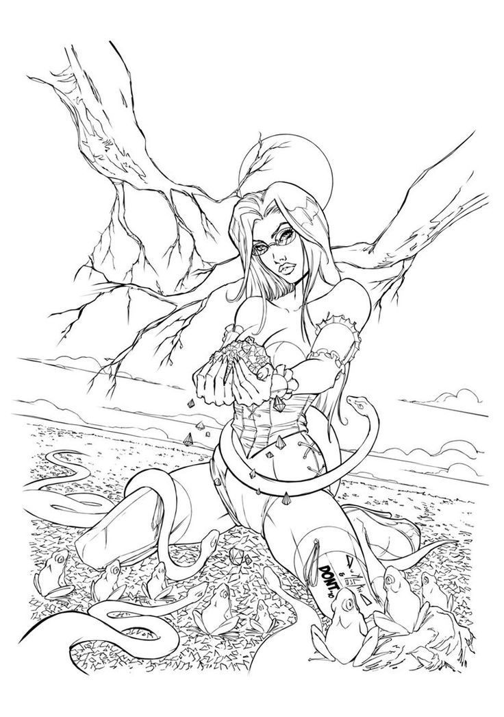 Grimm fairy tales dontborninink on deviantart find this pin and more on coloring pages frigidicequeen sexy adult