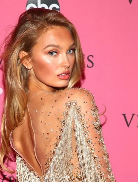 c9d71c58ba Who saw the gorgeous  VSAngel Romee Strijd wearing EF Collection at the  2018 Victoria Secret Fashion Show ! Shop EF Collection at our Highland Park  and ...
