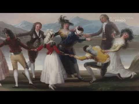 "La técnica de Goya en ""La gallina ciega"" - YouTube"