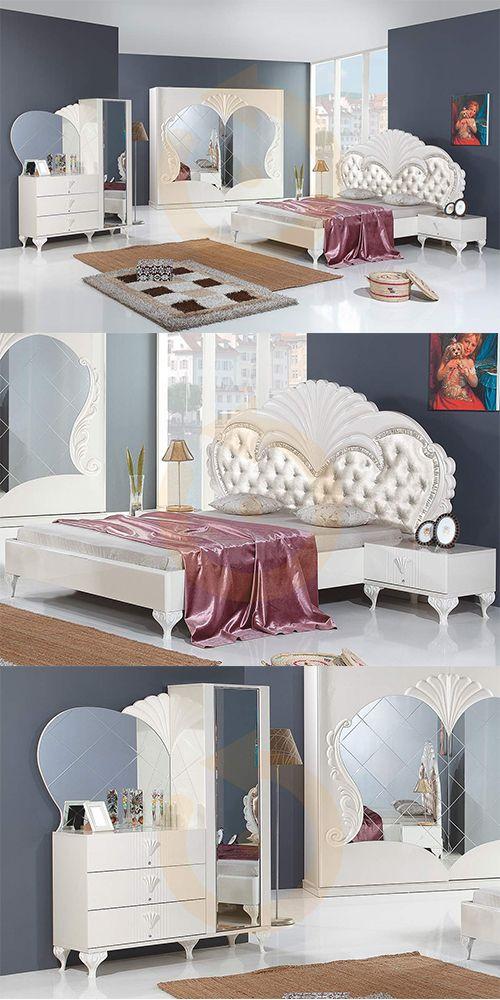 %100 İnegöl Mobilyası Armağan Avangard Yatak Odası Takımı Mobilyam Online farkı ile satışta!