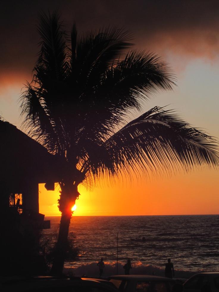 Puerto Vallarta Boardwalk at sunset!...gorgeous!