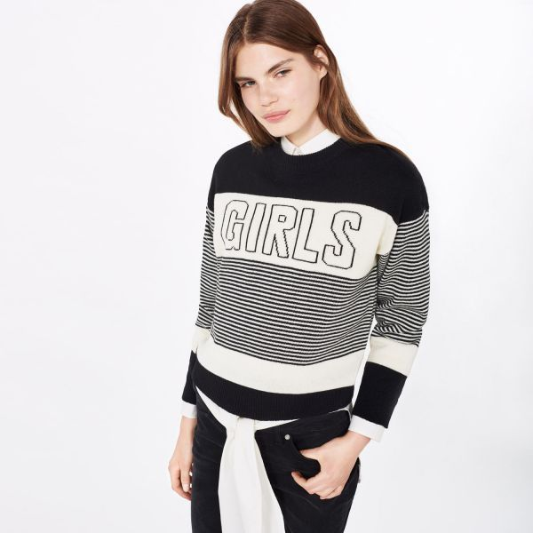 GANT Rugger: Black Girls Knit Sweater Women's | Strl L