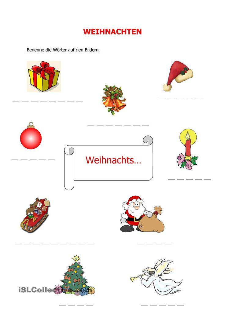 165 besten Weihnachten-DaF/DaZ (NATAL NO CURSO DE ALEMÃO) Bilder auf ...