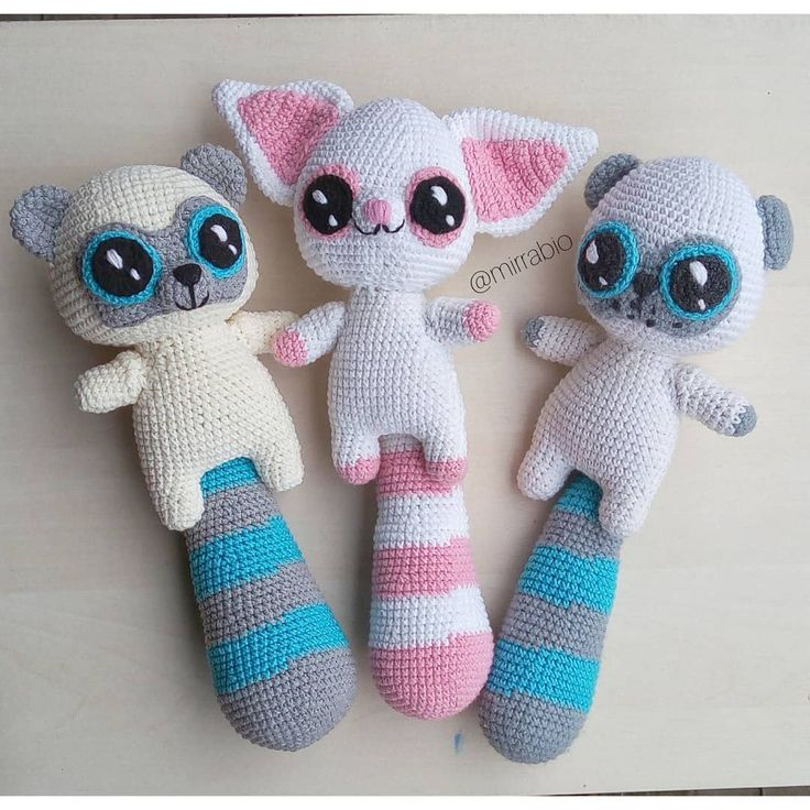 Yoohoo and friends Crochet pattern