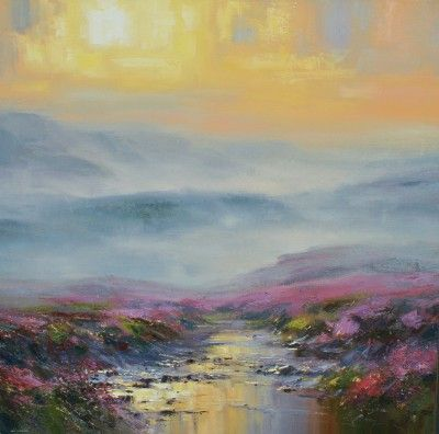 Rex PRESTON - Moorland Sunset