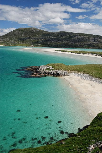 The breathtaking beauty of our job! Seilebost, Harris, Outer Hebrides, Scotland
