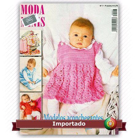 Revista Moda para Minis   - Idioma em Português de Portugal   - Revista em tamanho diferenciado: 18 x 25 cm   Modelos aconchegantes no tamanhos 56-98 para os mais pequenos    Fabricante:  Editora Alternativas